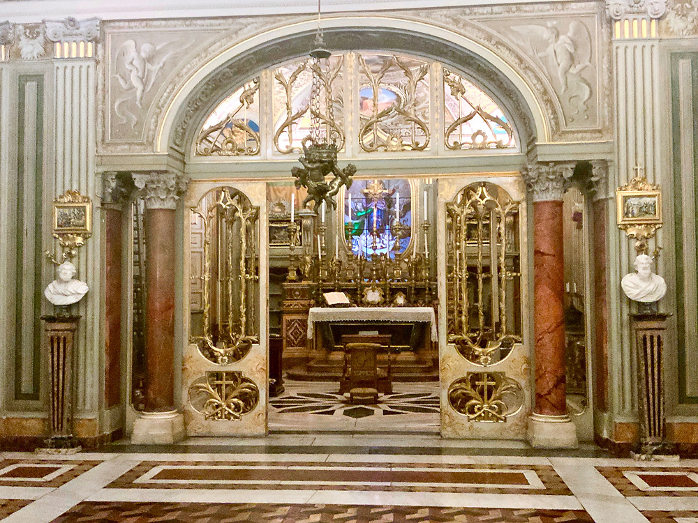 palace chapel in the Doria Pamphilj