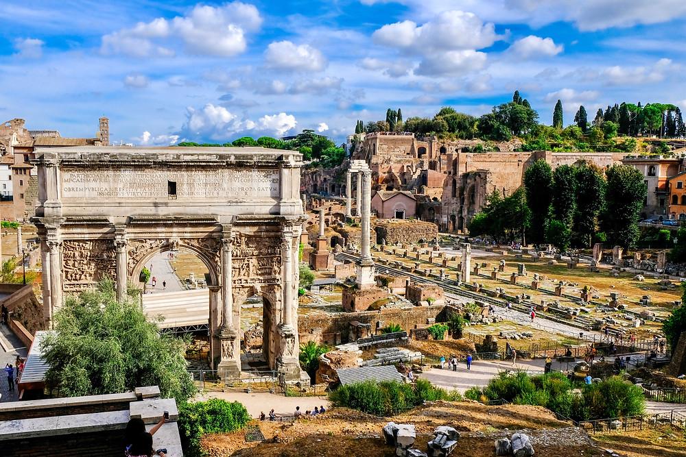 Triumphal Arch of Severus Septimus