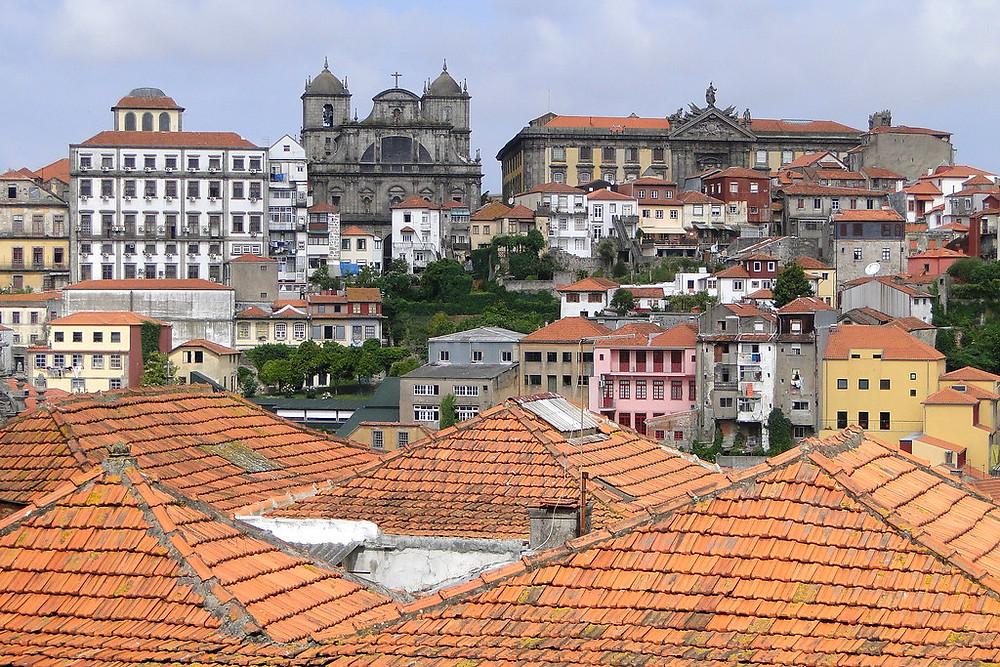 Ribeira district of Porto Portugal