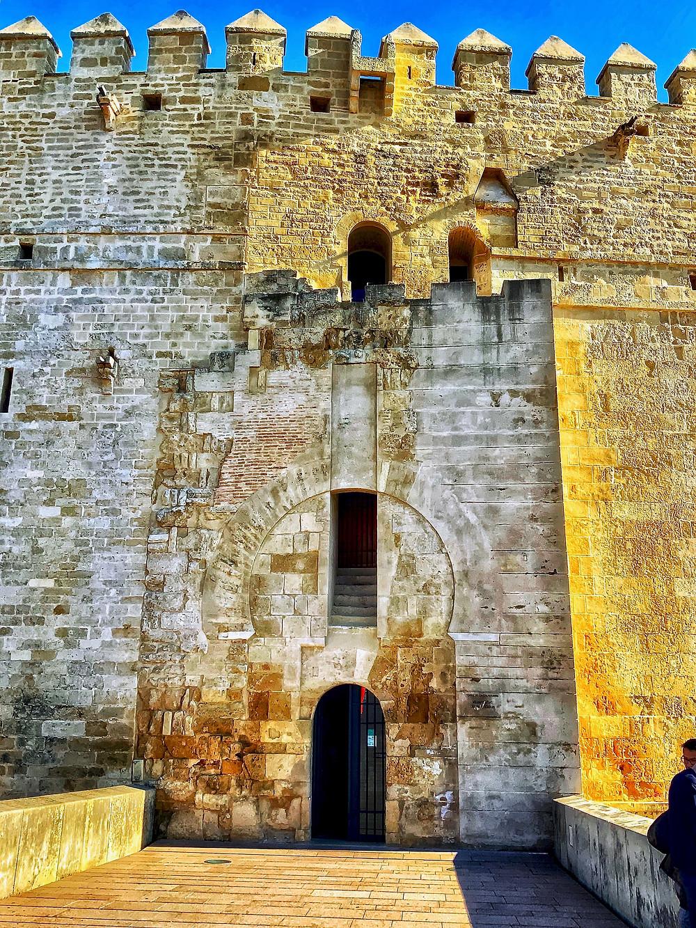 the Calahorra Tower on the Roman Bridge of Córdoba