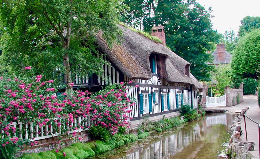 Veule-les-roses in Normandy