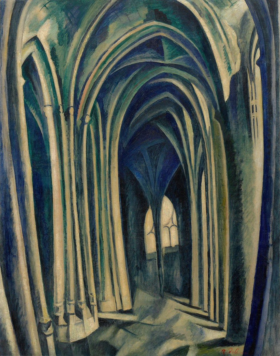 Robert Delaunay, Saint Severin No. 3, 1909
