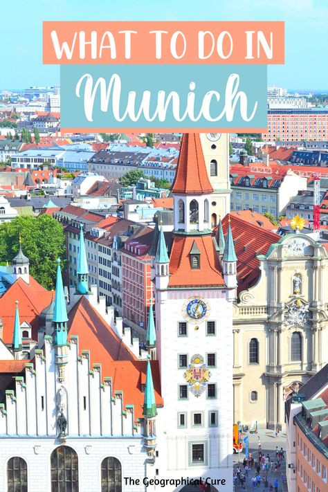 how to spend 1 day in Munich, the perfect 24 hour itinerary