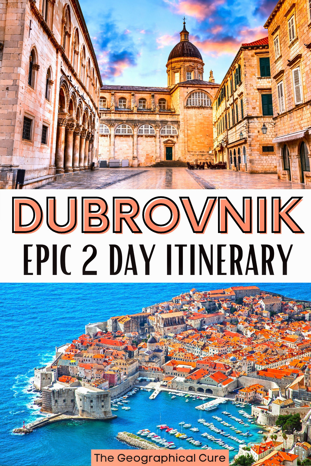 the perfect two day itinerary for Dubrovnik, with all the best things to see and do