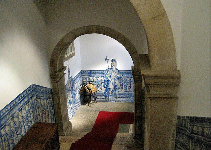 azulejo panels in the Lisbon Museum of Decorative Arts