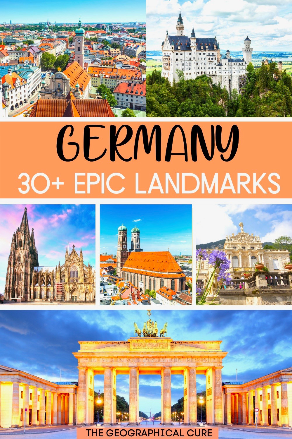 guide to famous landmarks in Germany