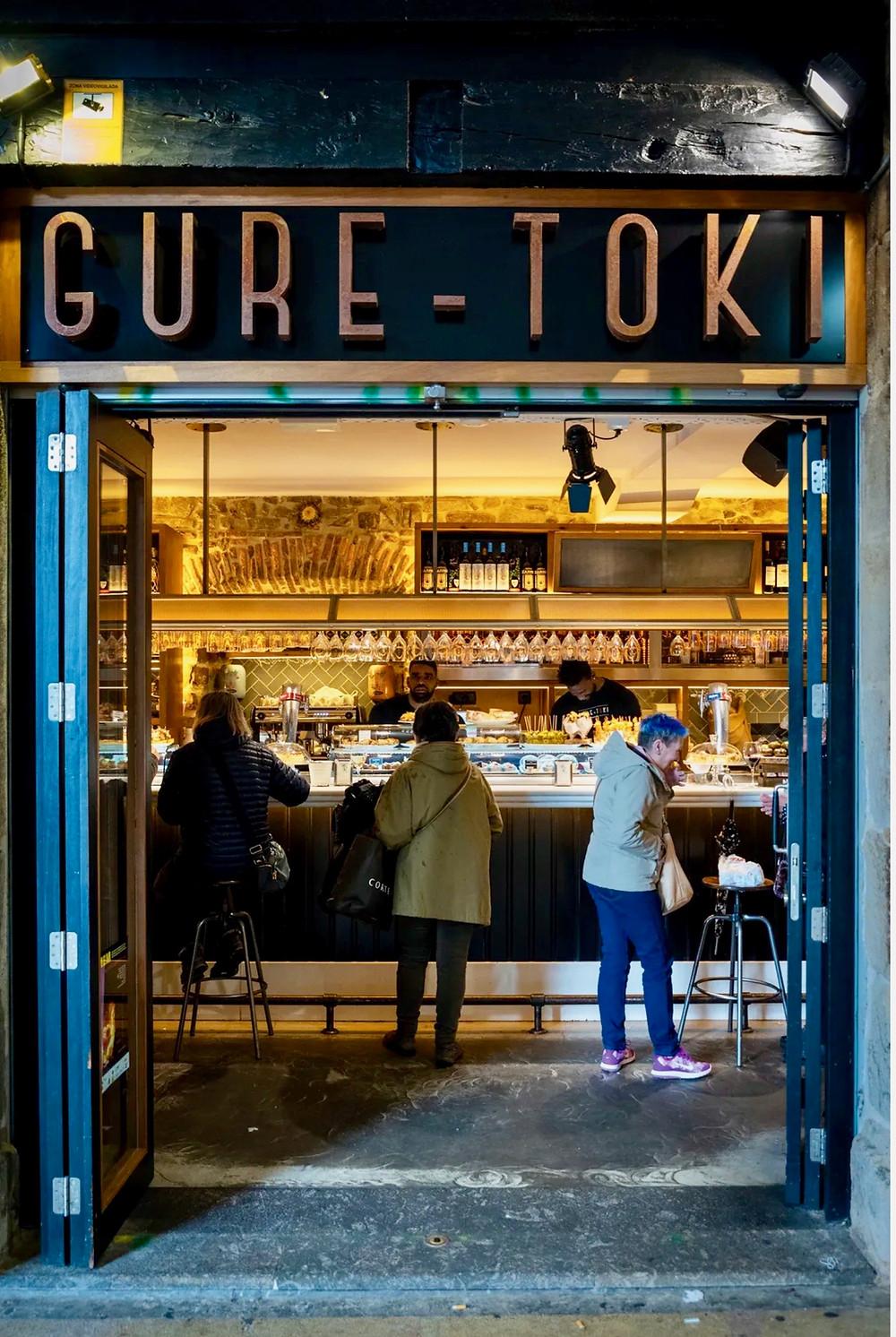 Gure-Tok, a fantastic pintxos bar in Plaza Nuevo