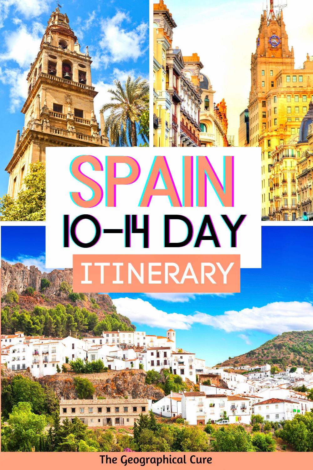 the best of Spain in a 10-14 day itinerary