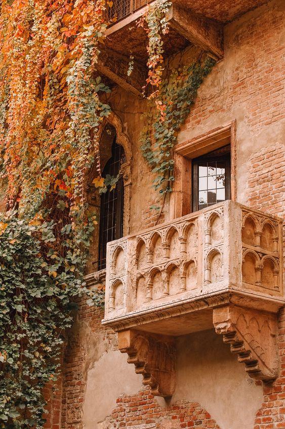 Juliet's Balcony in fair Verona