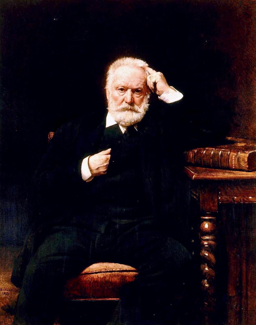 Leon Bonnat, Portrait of Victor Hugo, 1879