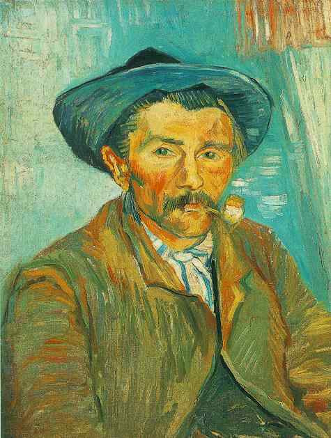 Vincent Van Gogh, the Smoker, 1888