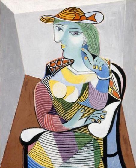 Pablo Picasso, Portrait of Marie-Thérèse, 1937.
