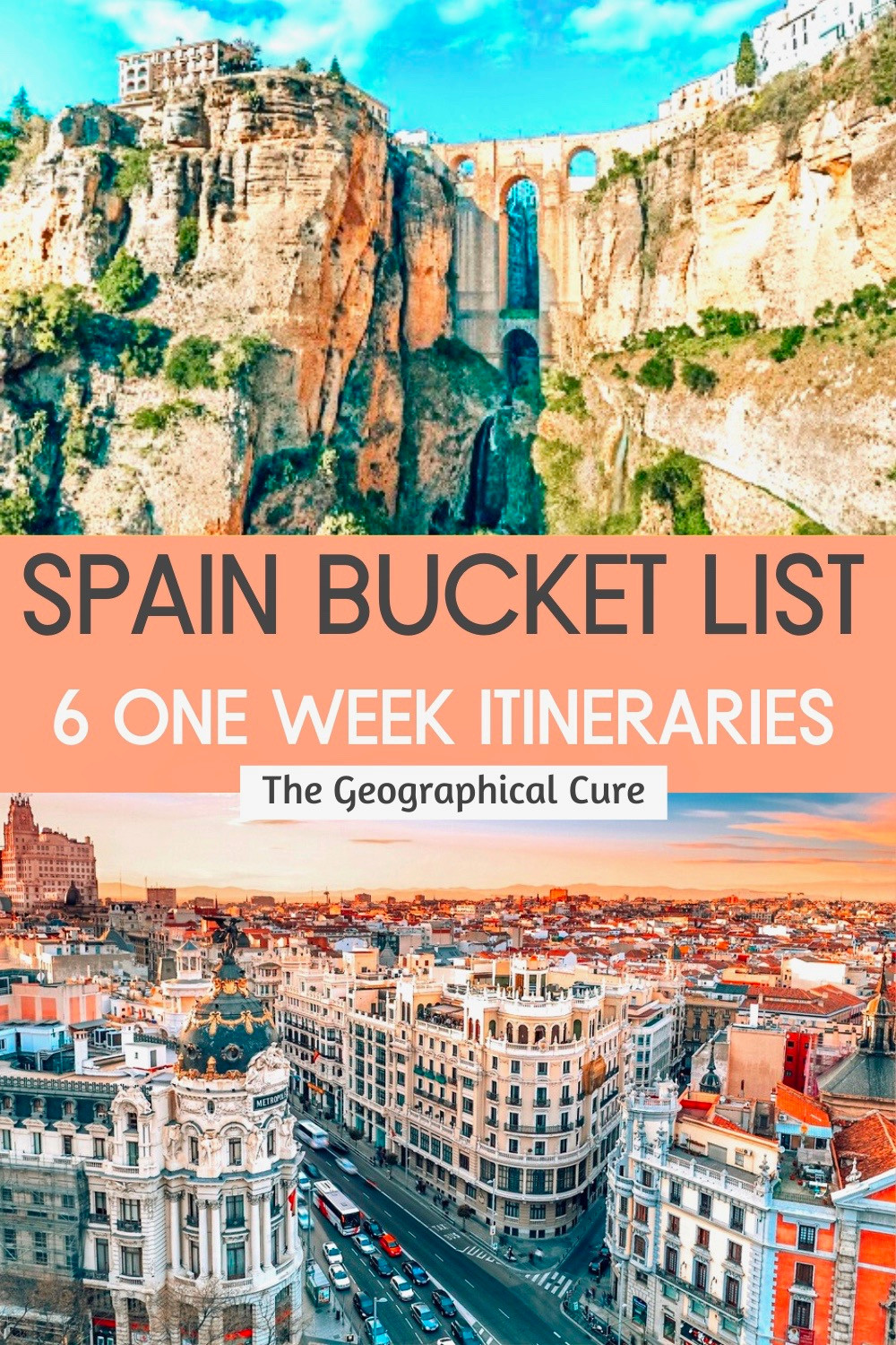 How To Explore Spain in One Week: Six Sample Itineraries