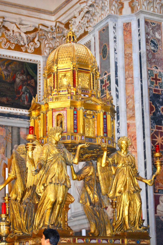 tabernacle in the Sistine Chapel