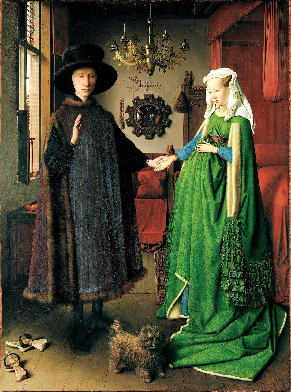 Jan Van Eyck, Arnolfini Portrait, 1434