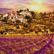 secret town of Simiane la Rotonde