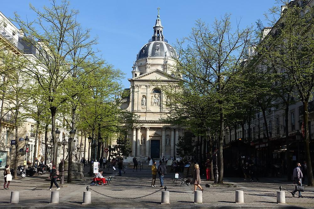 Place de la Sorbonne in Paris' Latin Quarter