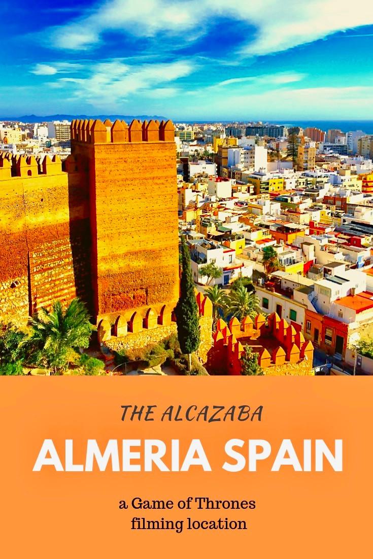 The Alcazaba Fortress in Almeria Spain
