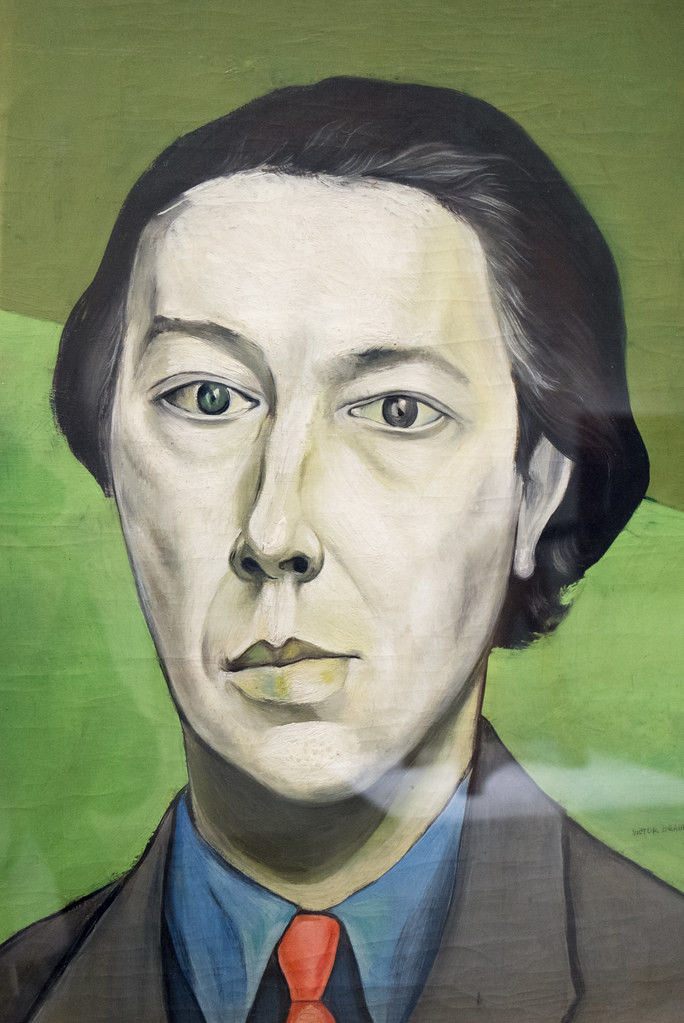 Portrait d'André Breton by Victor Brauner, 1934