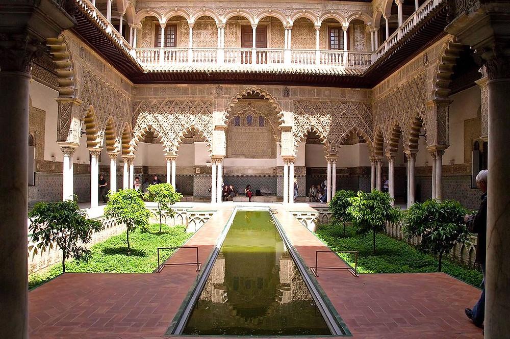 Palacio de Rey Don Pedro, the most beautiful part of the Royal Alcazar
