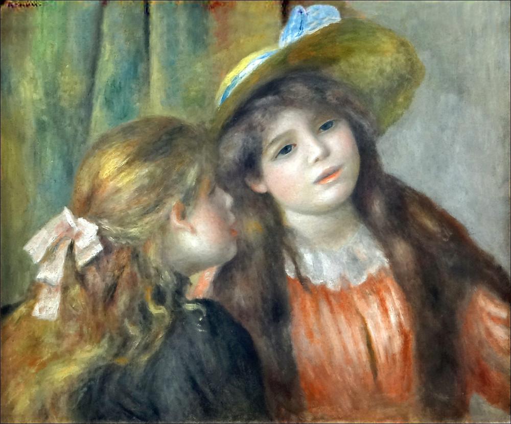 Renoir, Portrait de deux fillettes, 1890-1892