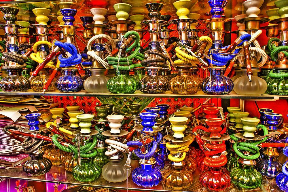 the Alcaiceria Market in Granada