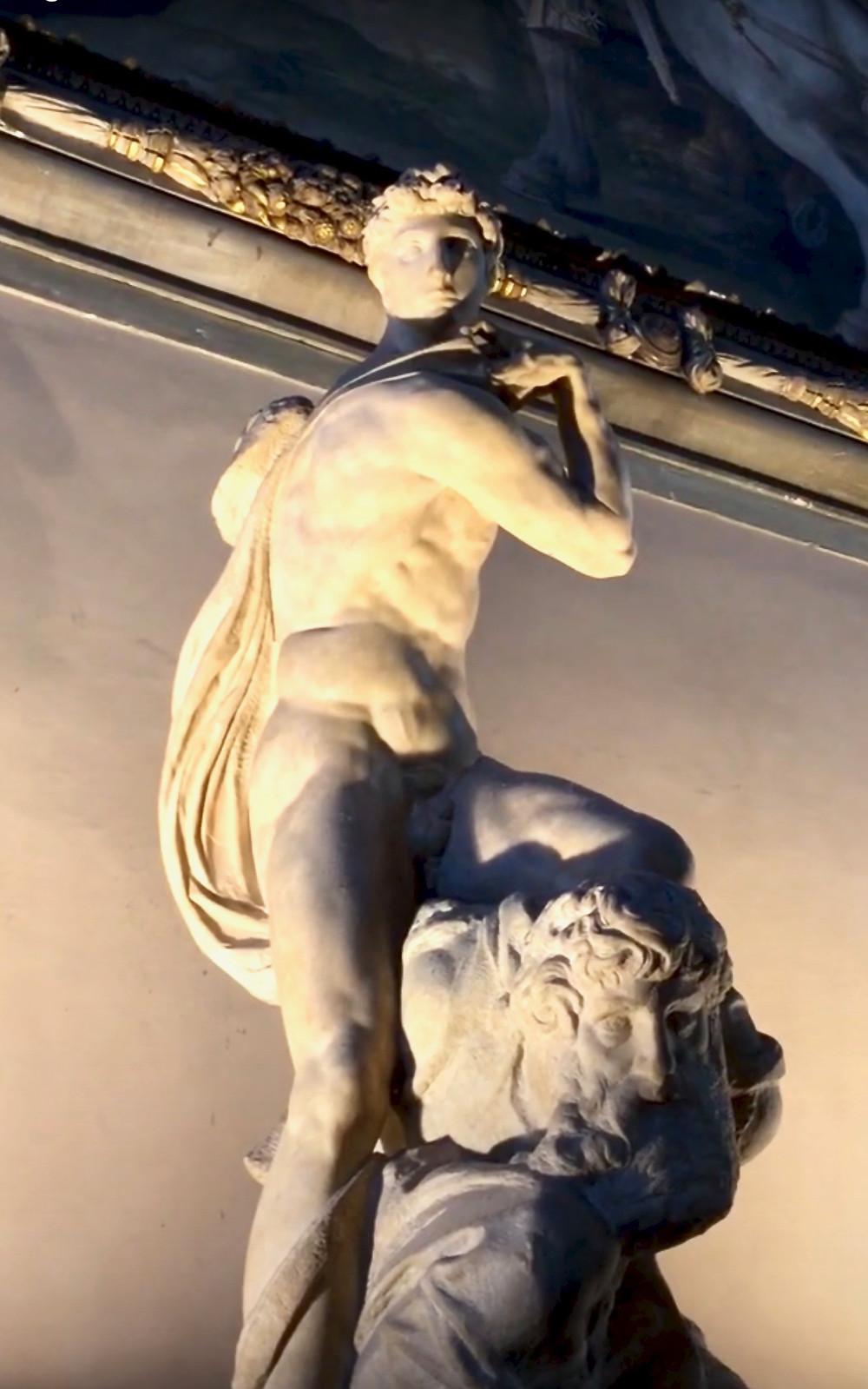 Michelangelo's Genius of Victory in the Palazzo Vecchio