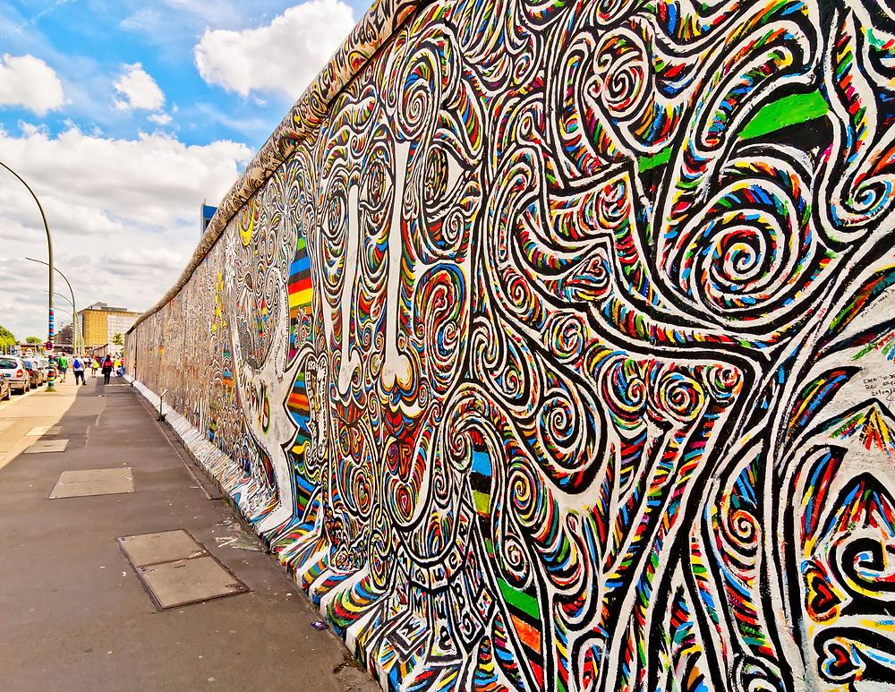 East Side Gallery of the Berlin Wall