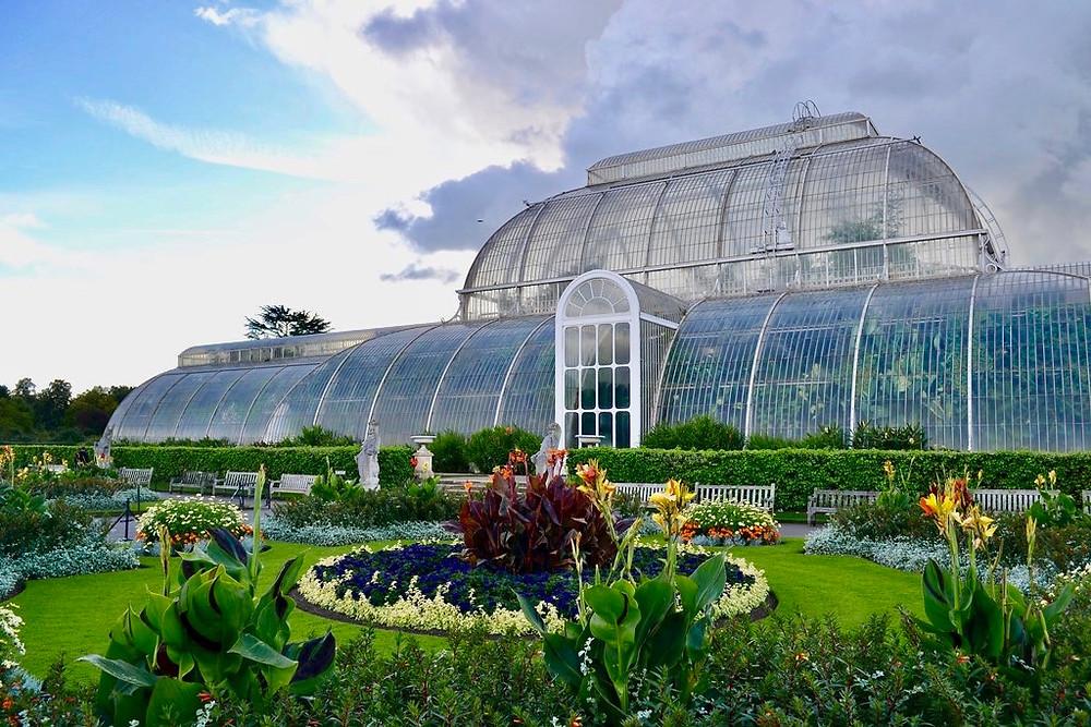 Kew Gardens, a UNESCO-listed botanic garden in London