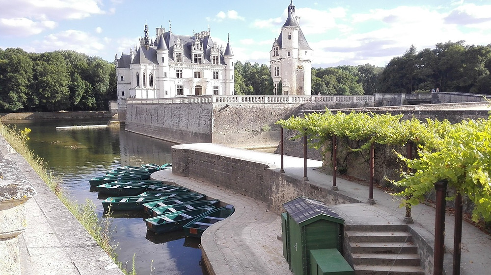 the beautiful Chateau de Chenonceau