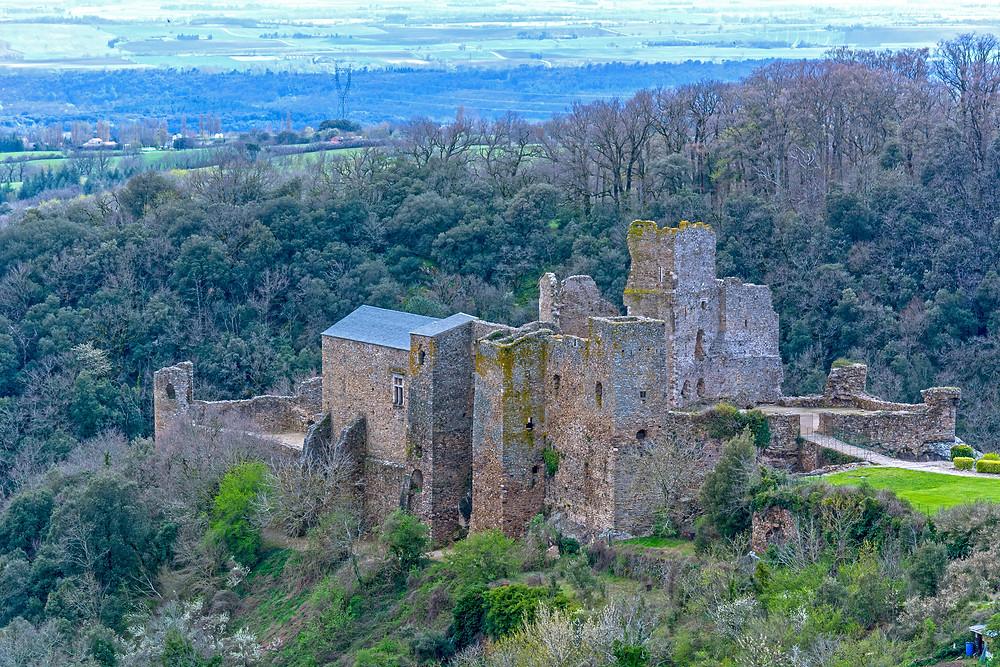 ruins of Saissac Castle