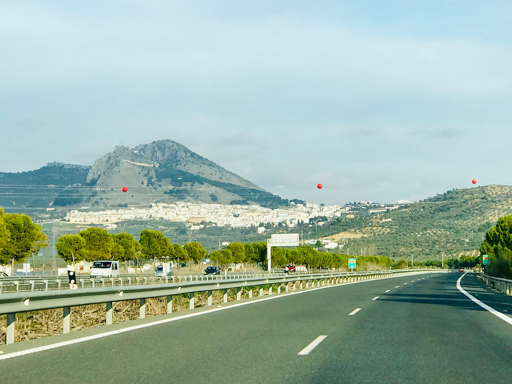driving to Granada Spain