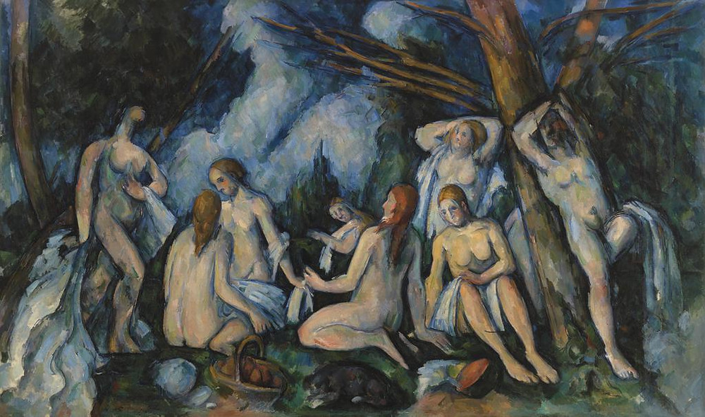 Paul Cezanne, Grand Bathers, 1898
