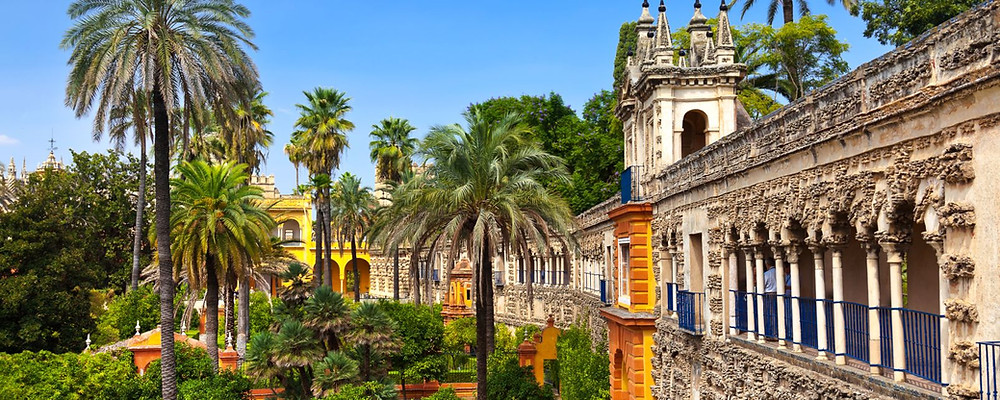 The Alcázar and its Gardens in Seville