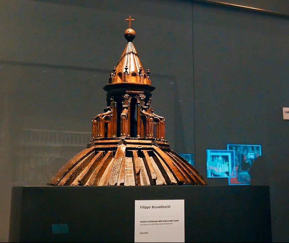 model of Brunelleschi's dome
