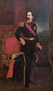 Joseph-Fourtune Layraud, Portrait of King Ferdinand Saxe-Coburg and Gotha, 1877