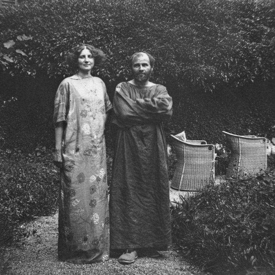 Emile Floge and Gustave Klimt