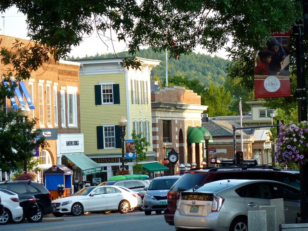 downtown Hanover NH