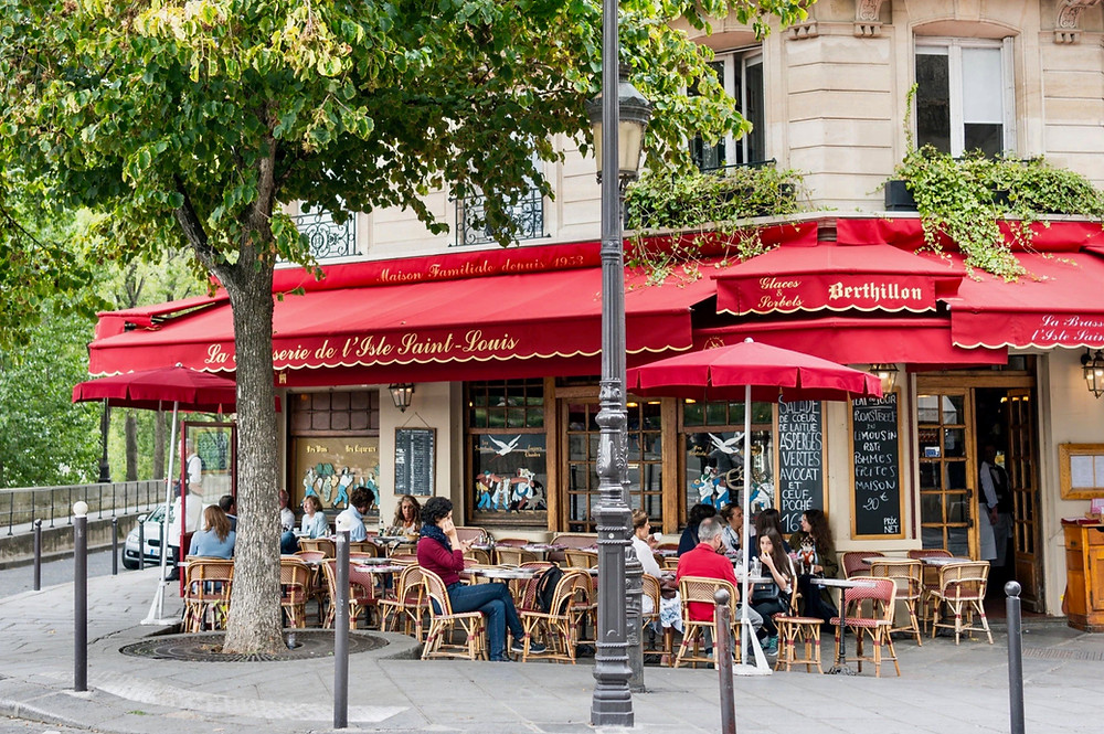 Berthillon, Paris' most beloved ice cream shop