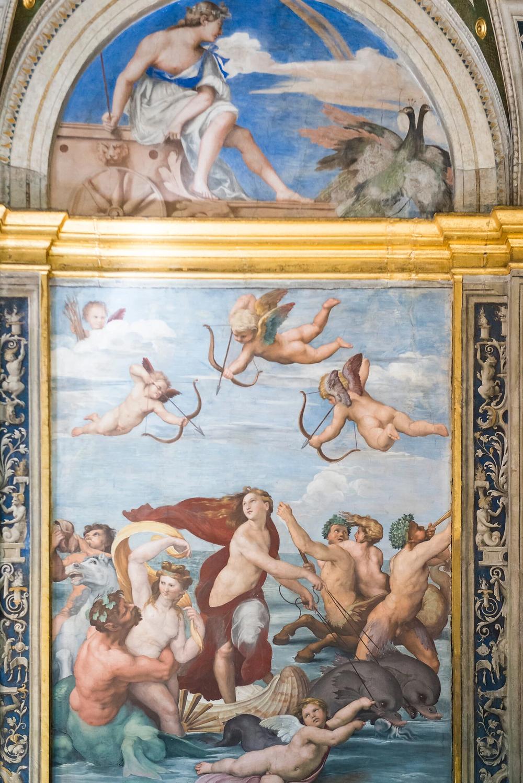 Raphael's Triumph of Galatea in Villa Farnesina
