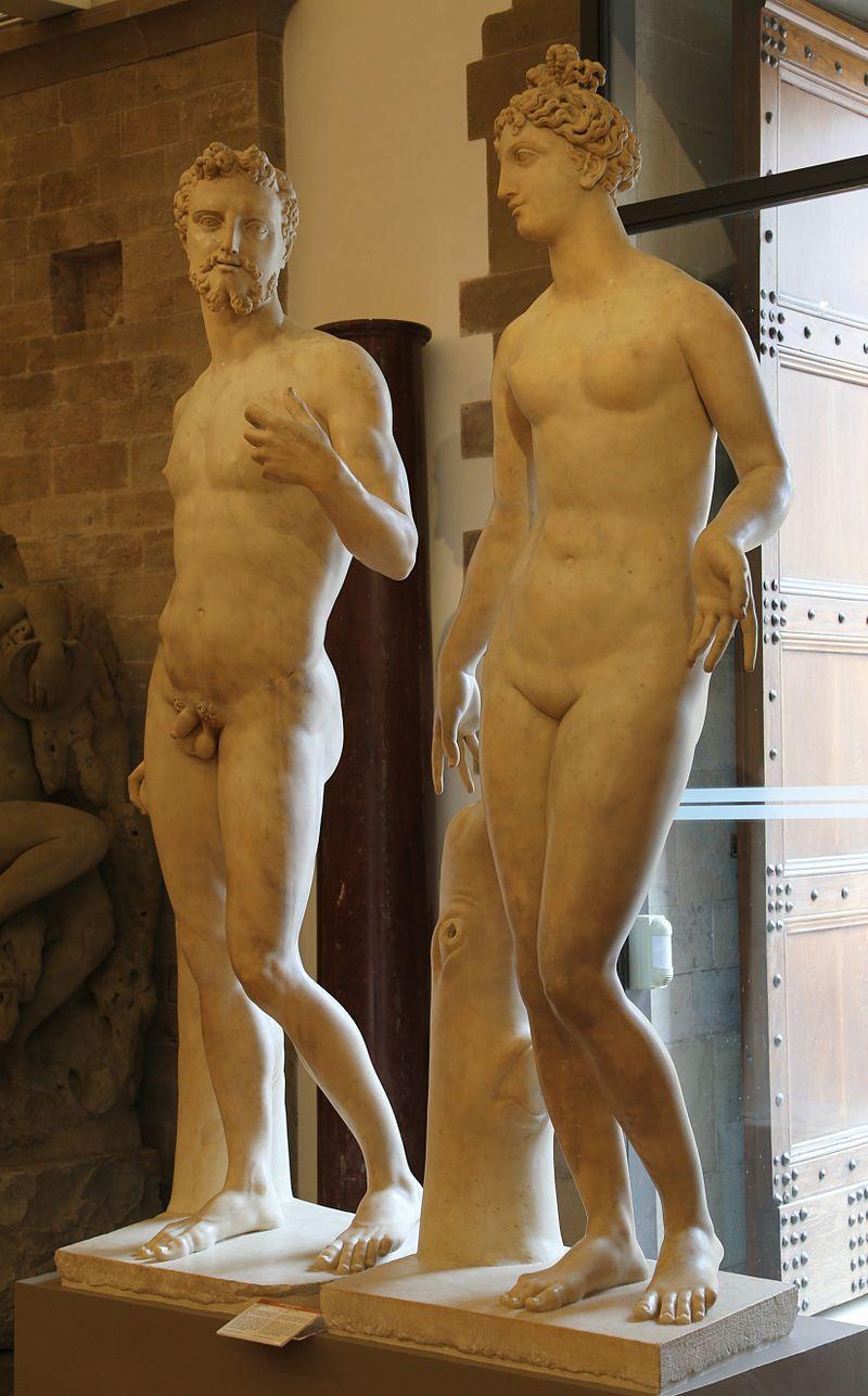 Baccio Bandinelli, Adam and Eve, 1551