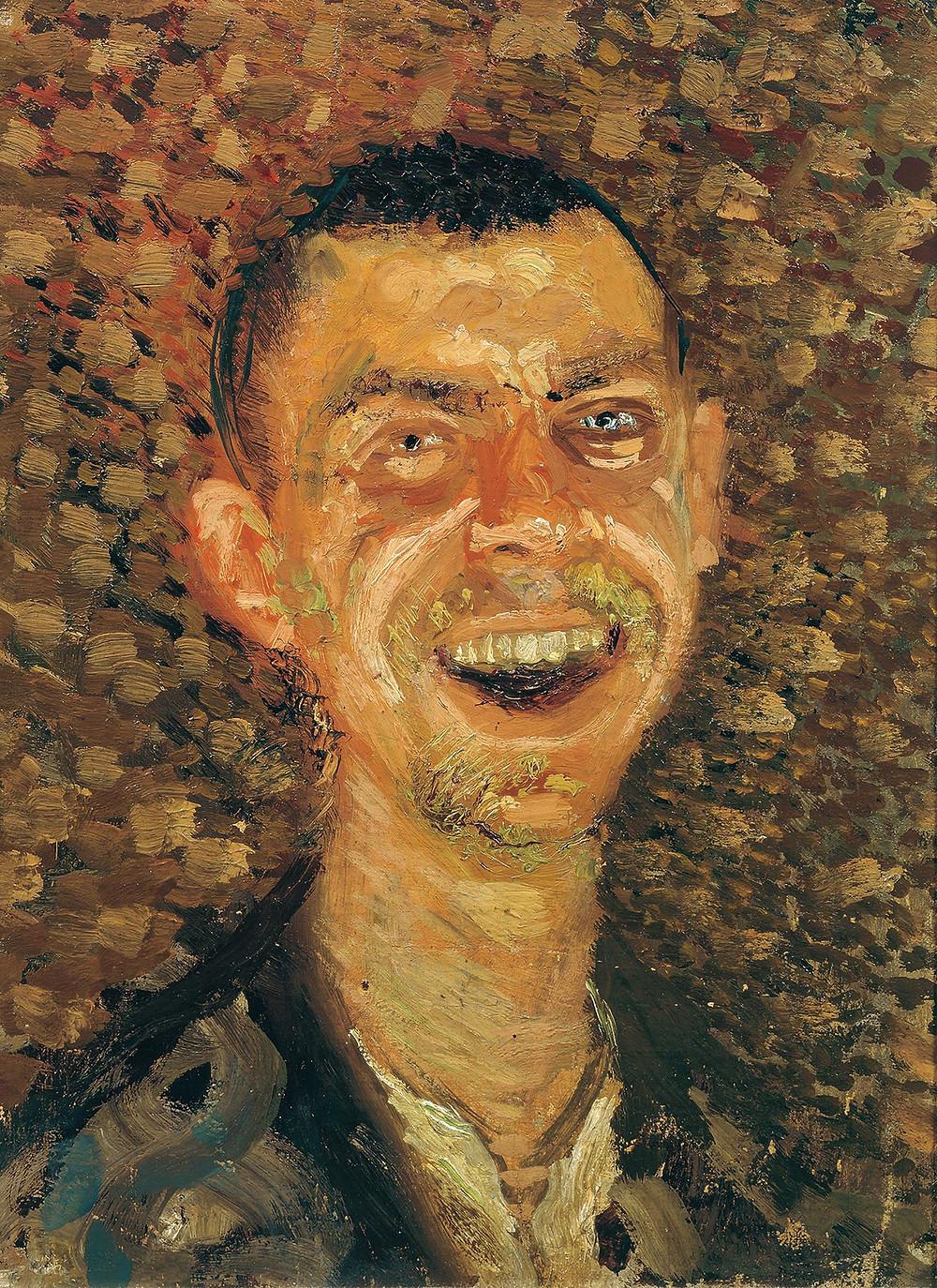 Richard Gerstl, Self Portrait Laughing, 1907