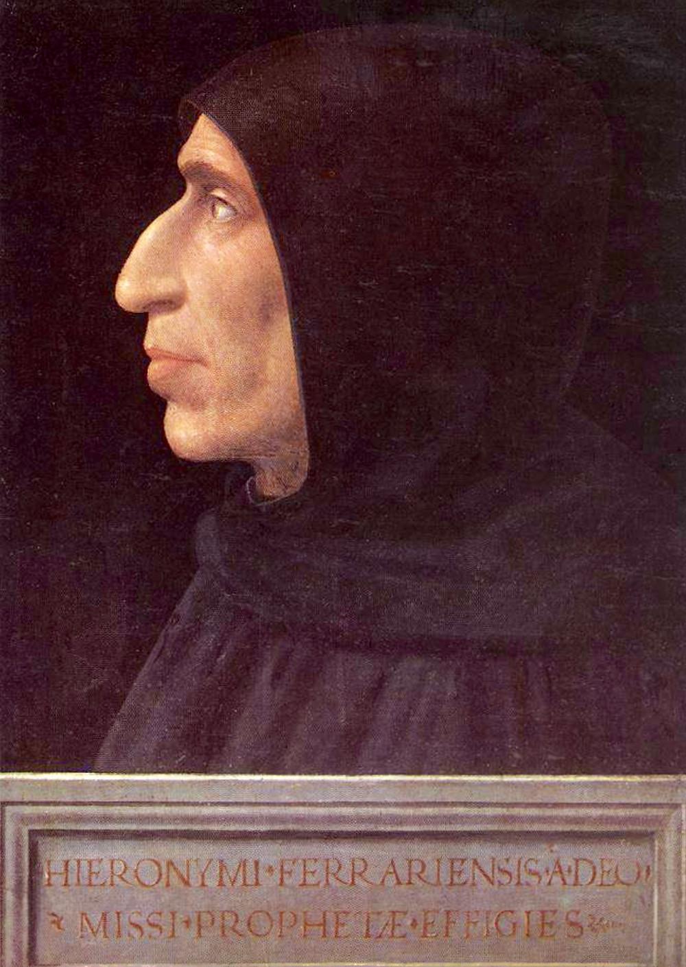 Fra Bartolomeo, Portrait of Savonarola, 1498