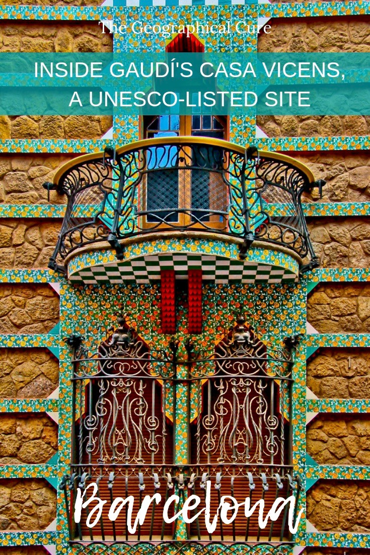 Gaudi's UNESCO-Listed Casa Vicens in Barcelona