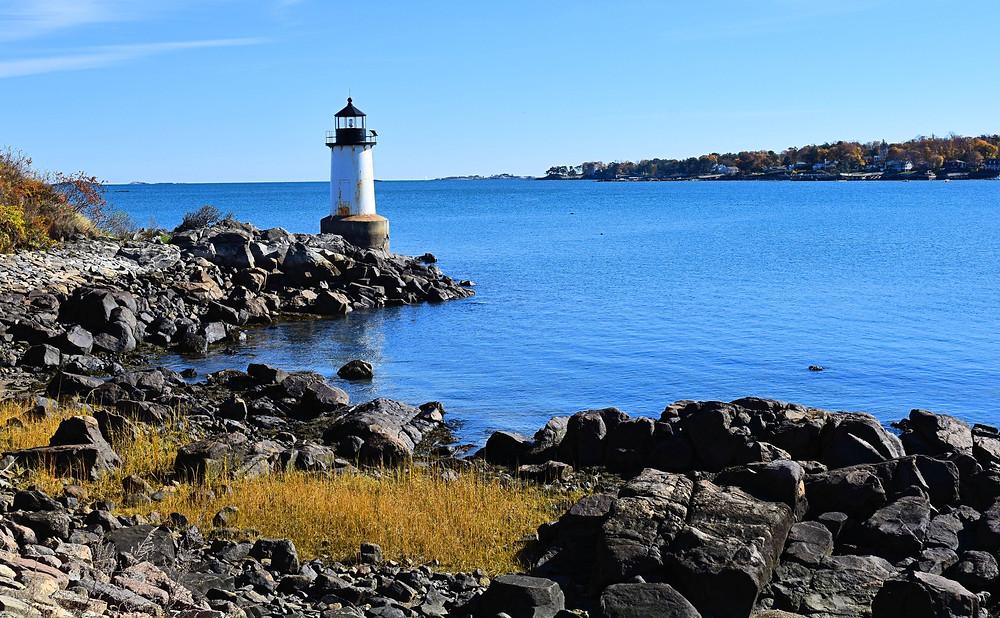Fort Pickering Light Winter Island Light in Salem MA