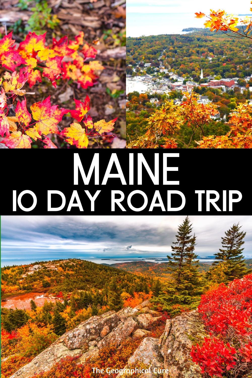 Maine: Epic 10 Day Road Trip Itinerary
