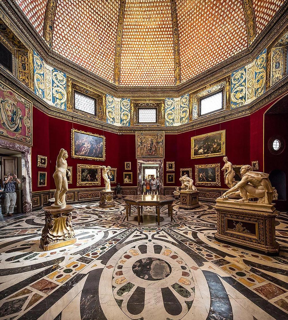Tribune Room in the Uffizi Gallery