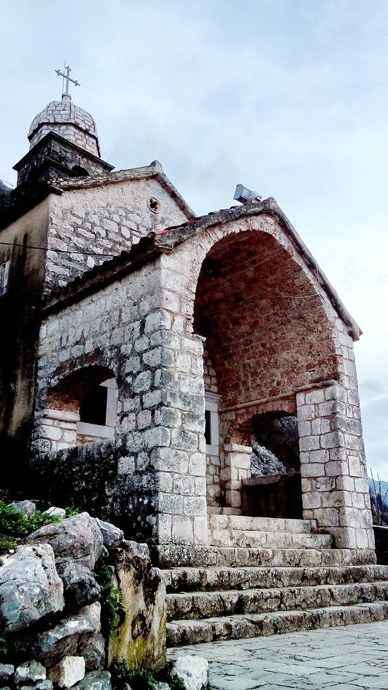 the 16th century Church of Our Lady of Remedy in Kotor Montenegro