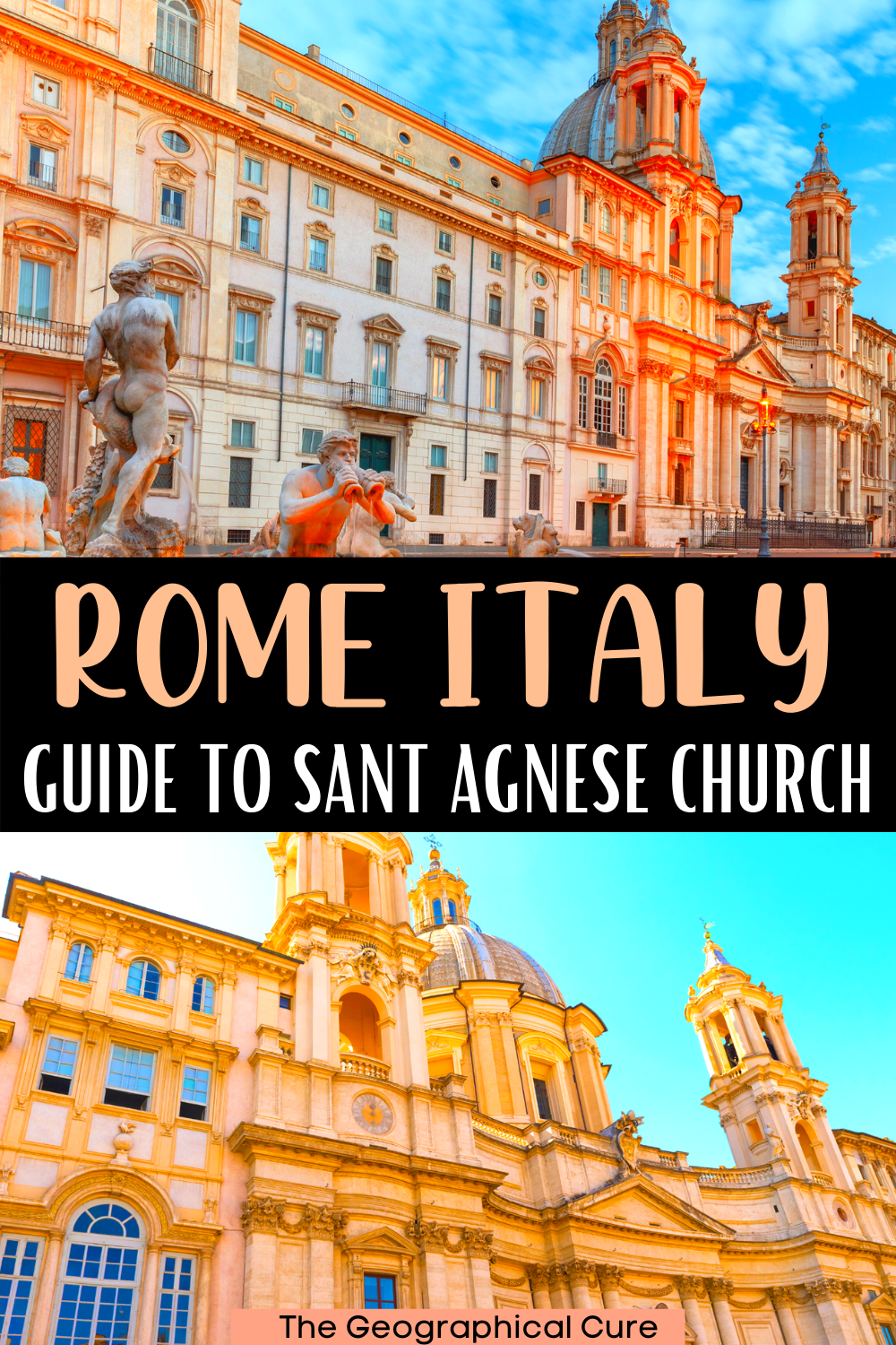guide to the Church of Sant'Agnese, a Borromini masterpiece and hidden gem in Rome