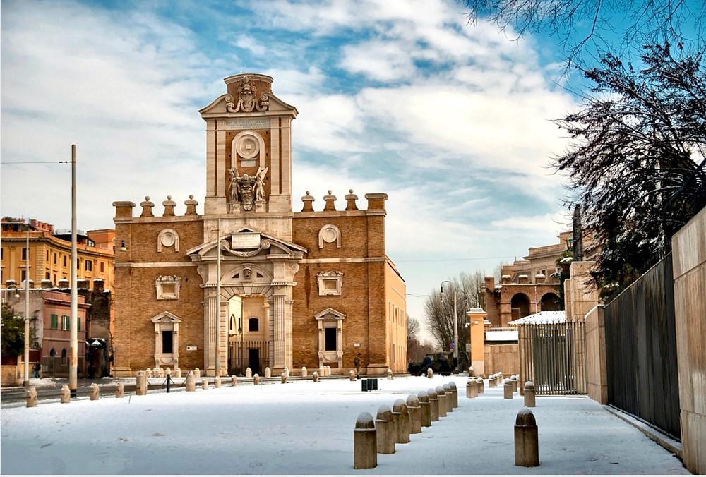 Michelangelo's Porta Pia. Image: Simone Lucchesi